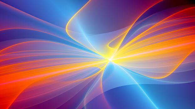 Бесплатные фото линии,свет,полоски,оранжевые,рисунок,узор,заставка,обои,абстракции,разное