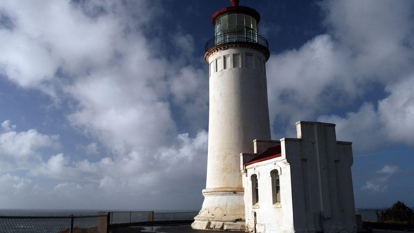 Фото бесплатно маяк, высокий, небо - на рабочий стол