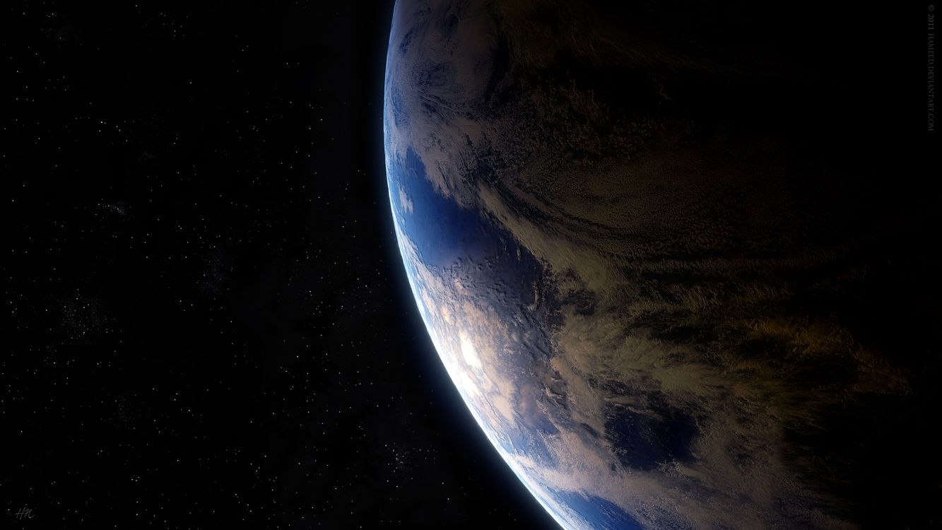 Photos for free planet, earth, surface - to the desktop