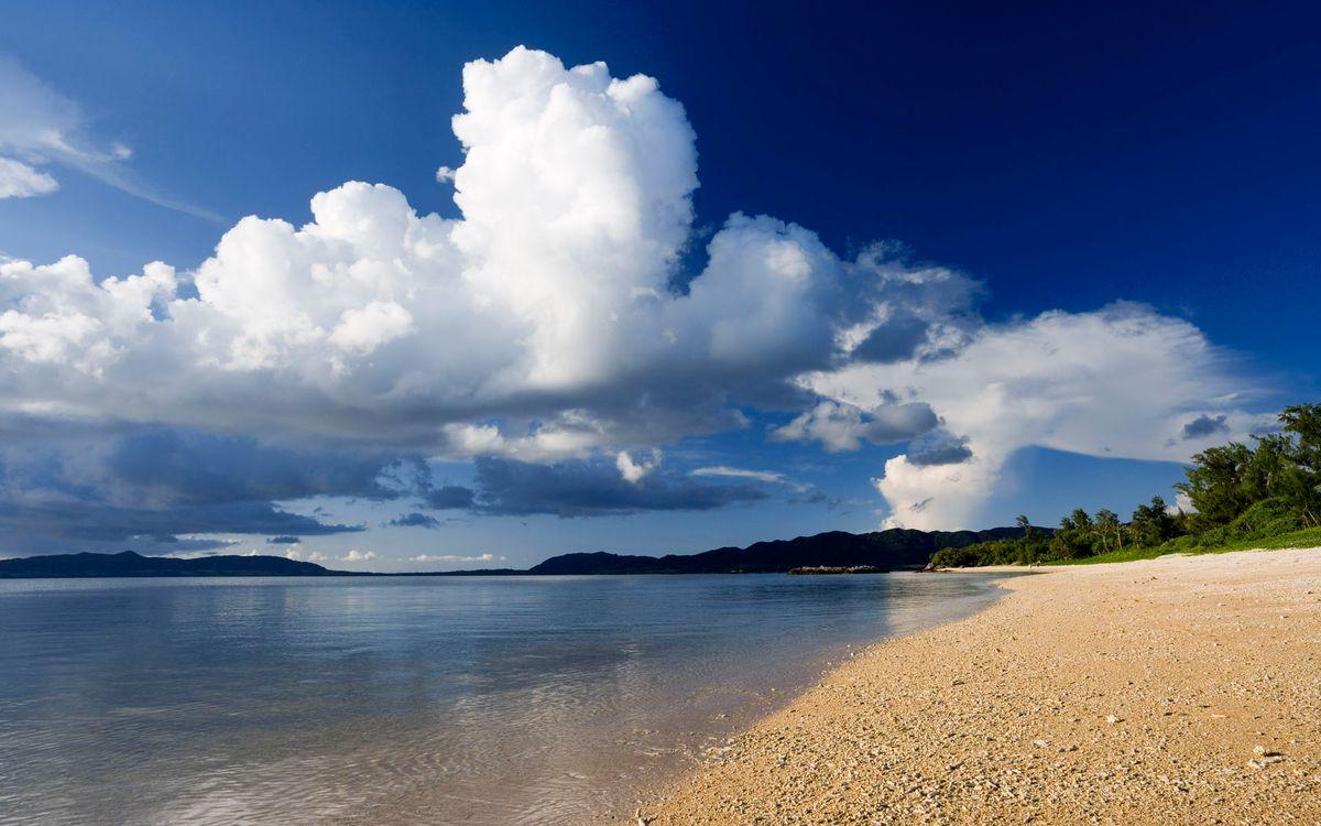 Фото бесплатно пляж, небо, облока - на рабочий стол