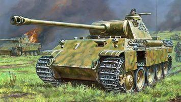 Бесплатные фото т-34,танк,война,гусеницы,огонь,пламя,пушка
