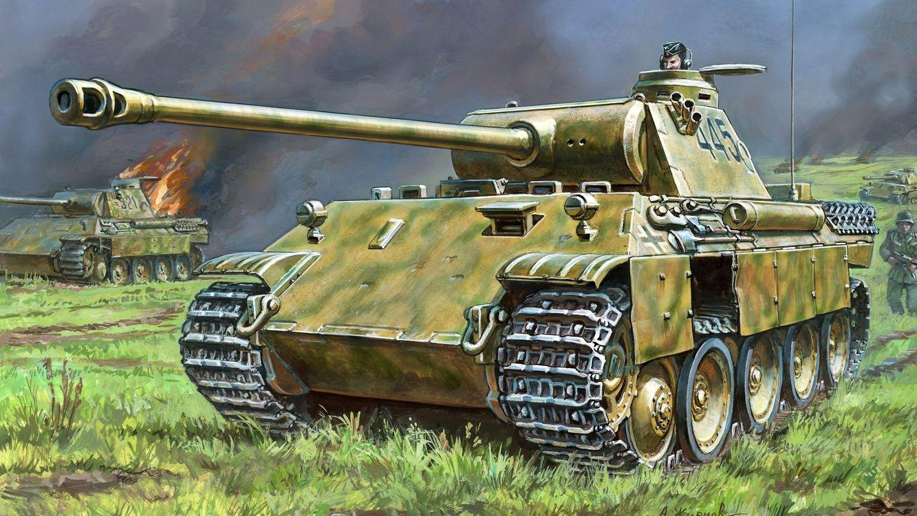 Фото бесплатно т-34, танк, война, гусеницы, огонь, пламя, пушка, оружие, оружие