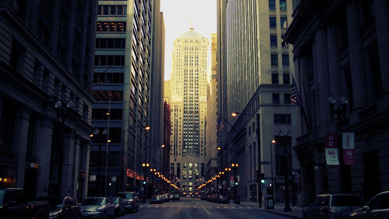 Фото бесплатно улица, дорога, машины - на рабочий стол
