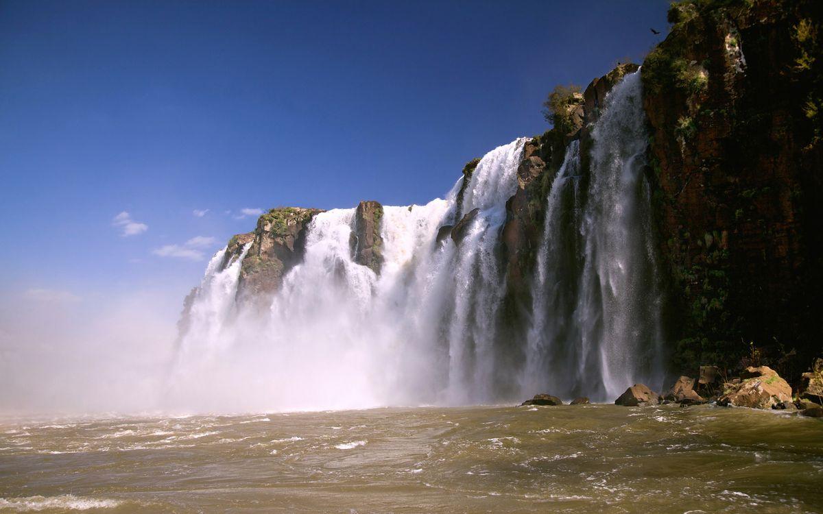 Скачать на рабочий стол картинки бесплатно водопад