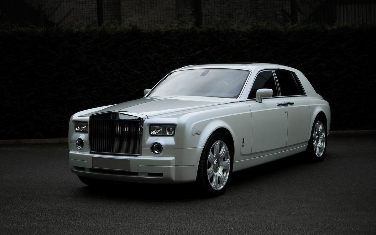 Фото бесплатно rolls royce, phantom, белый, дорогие, машины, машины