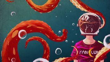 Фото бесплатно щупальца, арт, осьминог