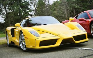 Photo free ferrari, yellow, red