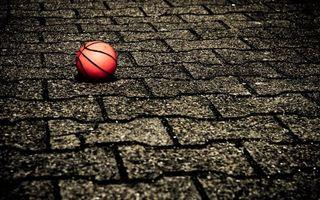 Фото бесплатно мяч, баскетбольный, тротуар