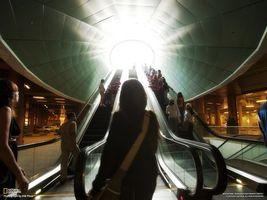 Бесплатные фото эскалатор,солнце,лучи,свет,люди,машины,national geographic