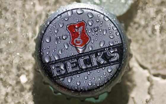 Photo free becks, cover, logo