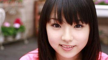 Бесплатные фото брюнетка,азиатка,волосы,глаза,губы,улыбка,лицо
