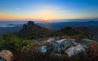Фото бесплатно горы, простор, вечер