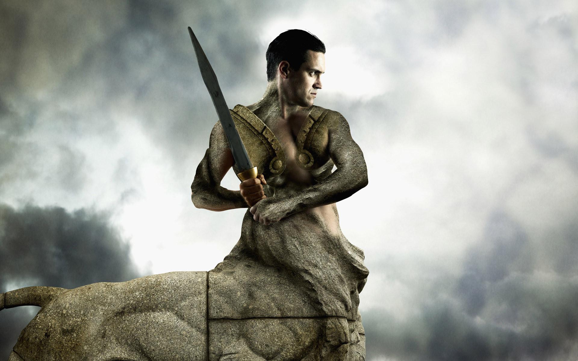 кентавр, тело лошади, каменное