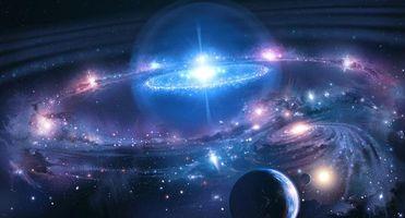 Фото бесплатно необъятные просторы космоса, вселенная, планета