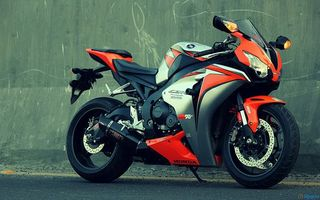 Photo free motorcycle, race, Honda