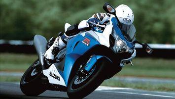 Фото бесплатно мотоцикл, мотоциклист, гонка