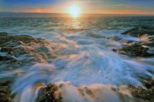 Заставки природа, море, волны