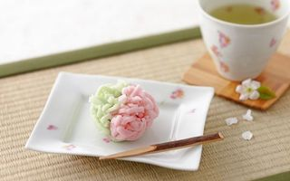 Фото бесплатно суши, тарелка, чашка