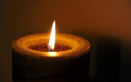 Фото бесплатно свеча, огонь, пламя