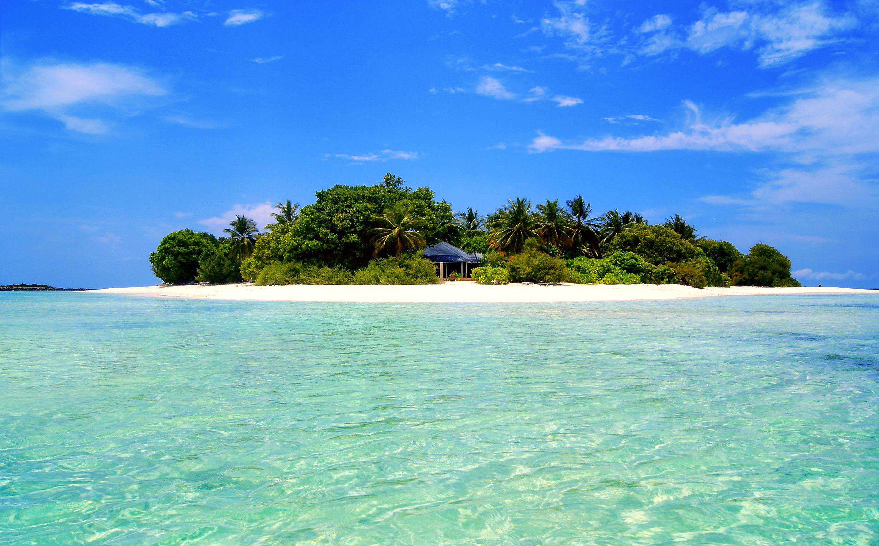 тропики, море, остров