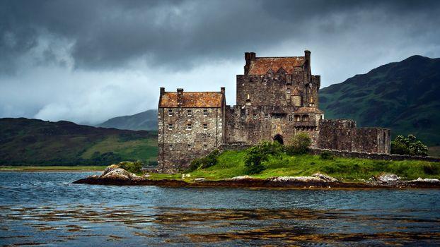 Фото бесплатно замок, старый, камень