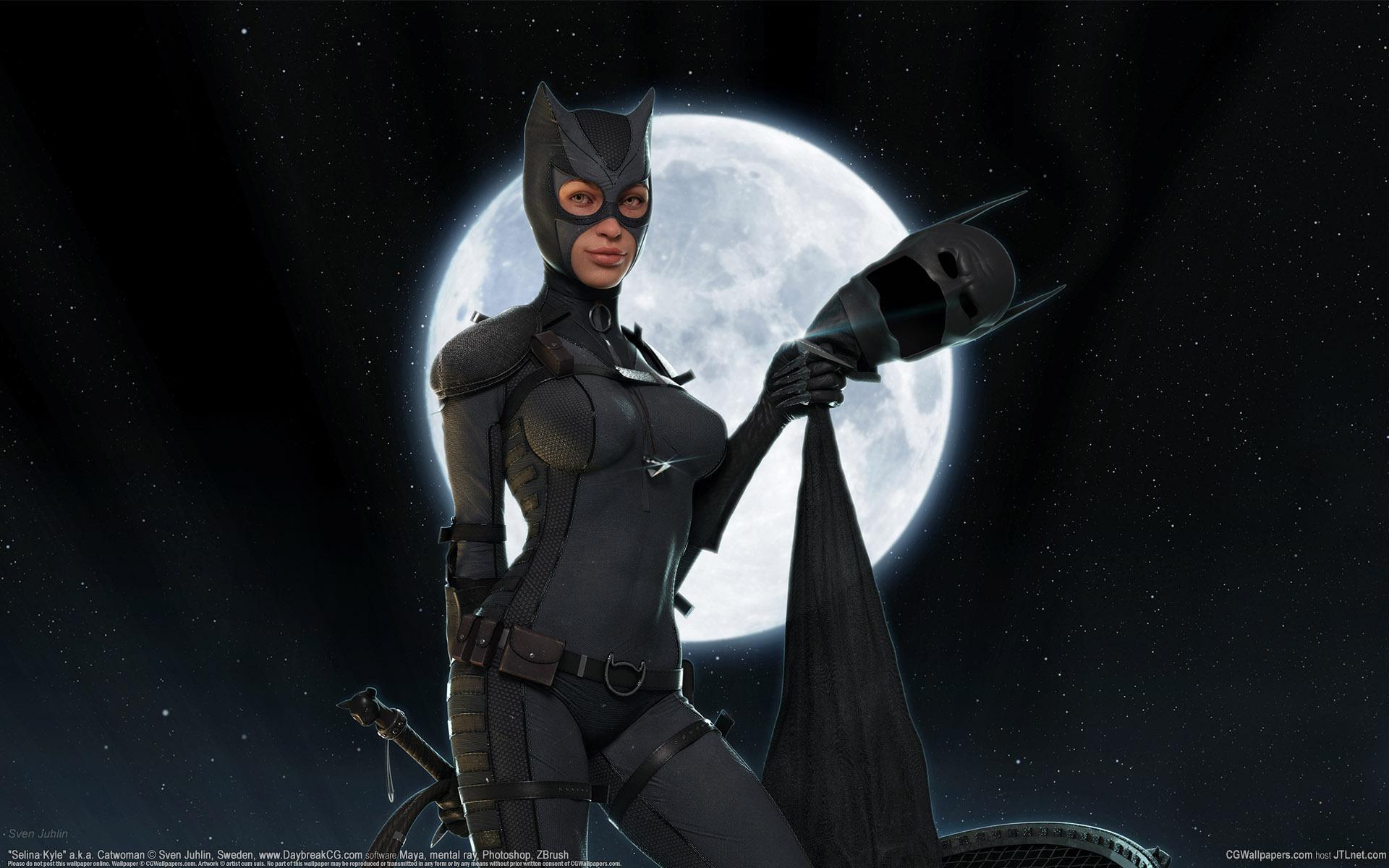 Женщина кошка из фильма бетман маска