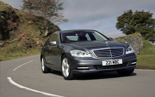 Photo free mercedes, s-class, gray