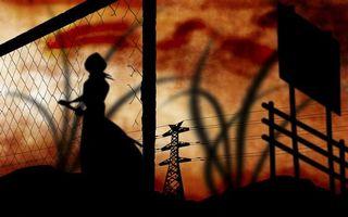 Бесплатные фото bleach,shadow,rukia,аниме