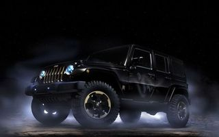 Photo free jeep, black, SUV
