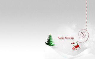 Фото бесплатно елка, звезда, дед мороз