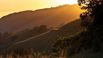 Фото бесплатно Восход, солнце, природа