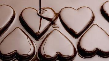 Фото бесплатно конфеты, шоколад, десерт