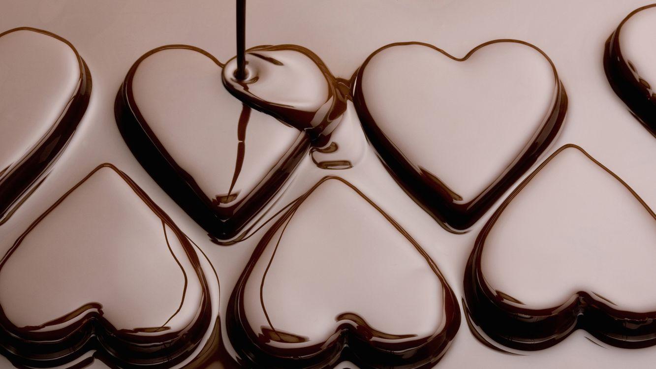 Фото бесплатно конфеты, шоколад, десерт, сладости, отражение, струя, еда, еда