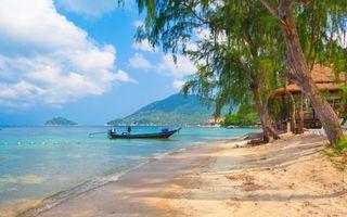 Фото бесплатно море, лодка, мотор