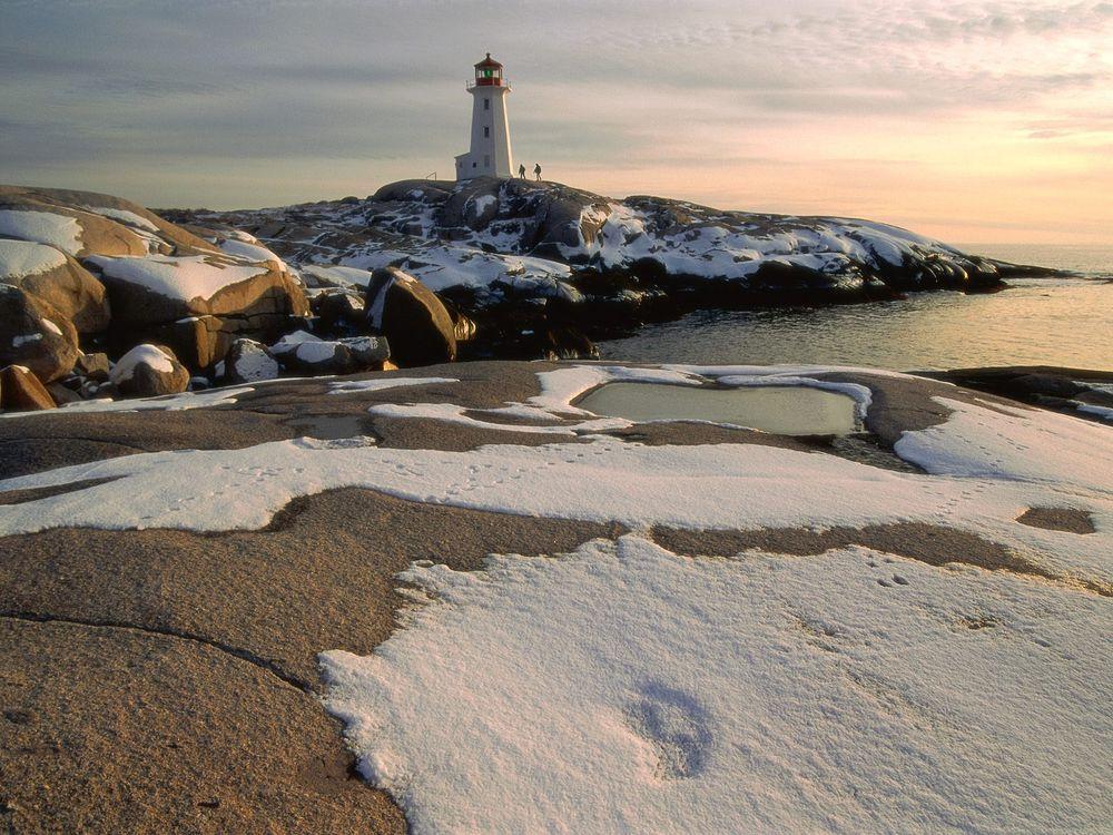 Фото бесплатно море, вода, снег - на рабочий стол