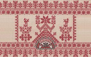 Бесплатные фото орнамент,узор,рисунок,нитки,ткань,вышивка,символ