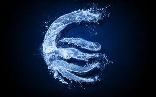Бесплатные фото синий, фон, вода, символ, брызги, капли, абстракции