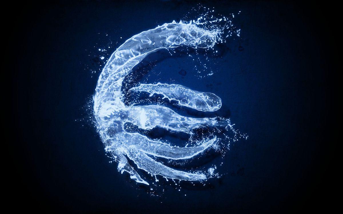 Фото бесплатно синий, фон, вода - на рабочий стол