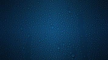 Бесплатные фото вода,капли,цвет,синий,полосы,частицы,минимализм