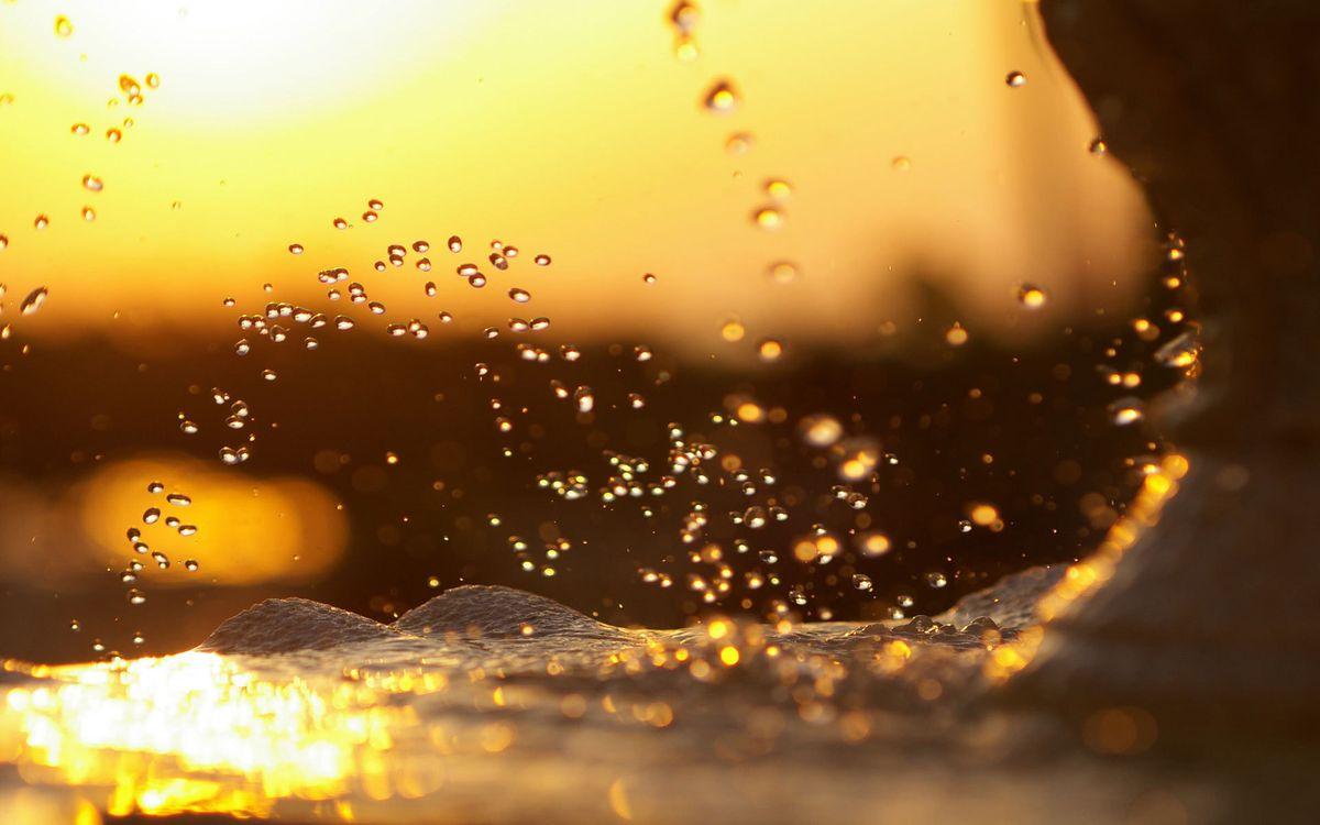 Фото бесплатно вода, море, океан, брызги, волна, солнце, лучи, отражение, жидкость, природа, природа