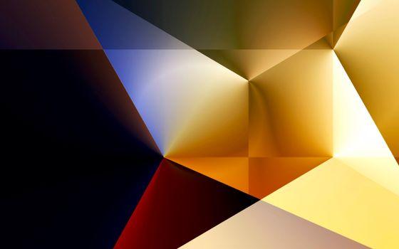 Бесплатные фото заставка,обои,градиент,линии,цвет,углы,иллюзия,пик,абстракции,разное