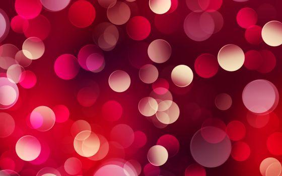 Бесплатные фото цвет,круги,красные,огоньки,боке,алые