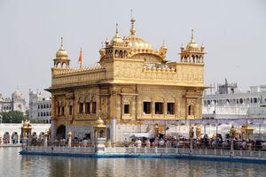 Обои храм, вода, віра, індія, ганді, небо, город, пейзажи, природа