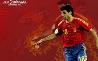 Фото бесплатно фон, красный, футболист