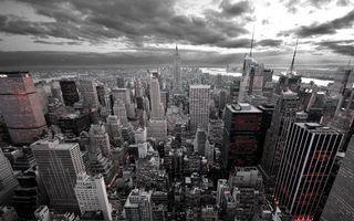 Фото бесплатно небоскребы, цвет, серый