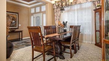 Фото бесплатно гостиная, стол, стулья