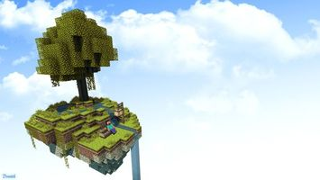 Photo free height, island, tree