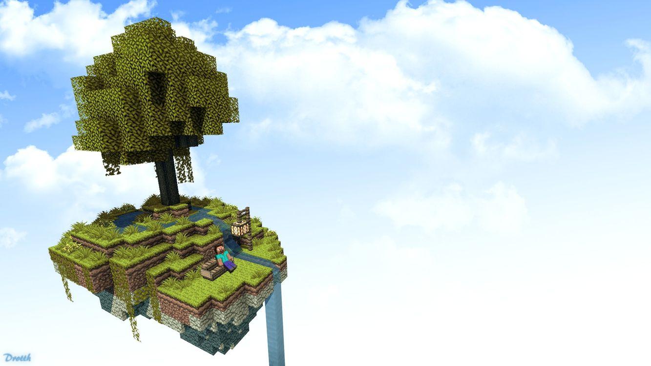 Фото бесплатно небо, облака, остров - на рабочий стол