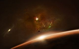Photo free planet, surface, clusters