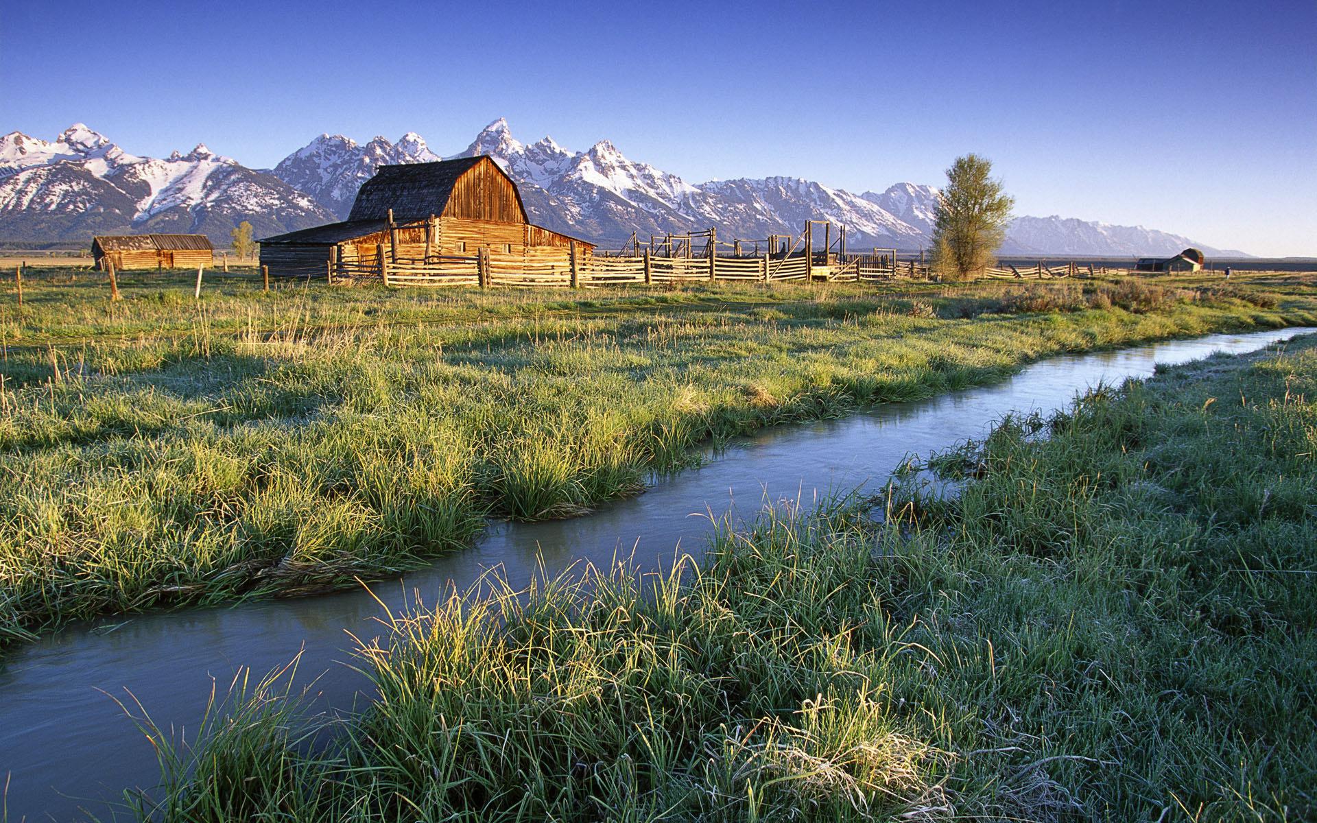 ранчо, ферма, ограда